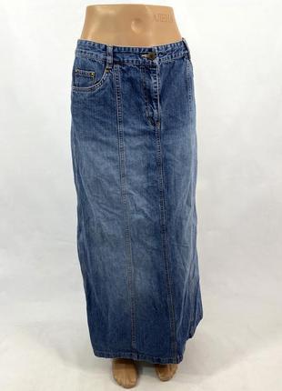 Юбка джинсовая макси principles