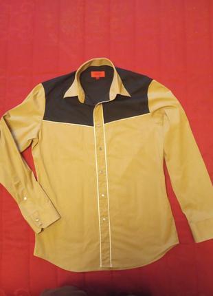 Стильная мужская рубашка от hugo boss