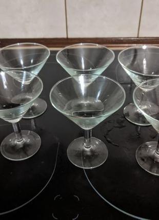 Набор бокалов для мартини коктейля 125 мл 6 шт высота 11 см 9,...