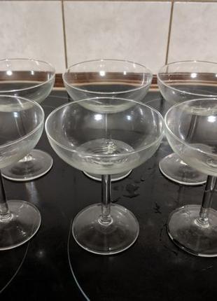 Набор бокалов для мартини коктейля 200 мл 6 шт высота 12,3 см ...