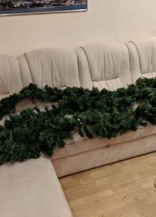 Декоративные/искусственные ветки/ветви елки/ели 2,5 м есть 3шт...