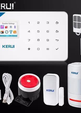 Беспроводная GSM Сигнализация KERUI W18
