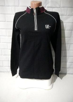Спортивная кофта, свитер реглан под горло lynx usa / арт.м01