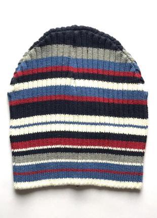 Детская шапка 100 % коттон, демисезон, takko fashion, 2-8 лет.