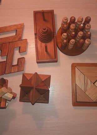 Головоломки дерев'яні