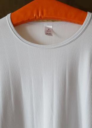 Стрейчевая белая футболка calida