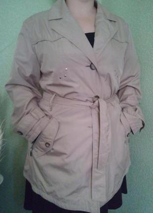 Легкая куртка/ветровка/укороченный плащ тренч