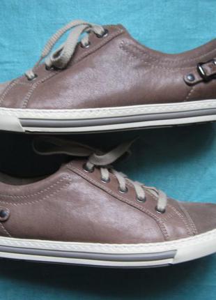 Paul green (40) кожаные кроссовки женские