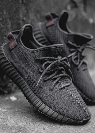 Кроссовки Yeezy Boost 350 V2 от adidas Black
