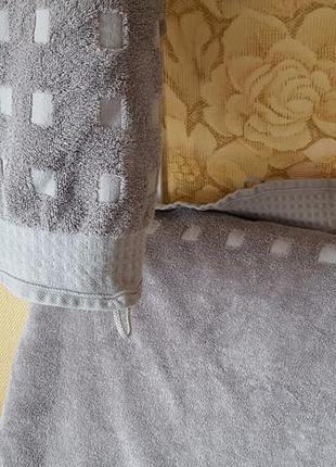 Махровое банное полотенце vossen original австрия - 62х135 см