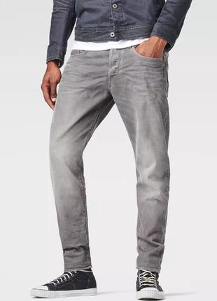 Идеальные пепельные джинсы g-star raw original