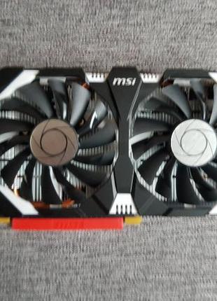 Продам видеокарту MSI GeForce GTX 1060 6GB GDDR5