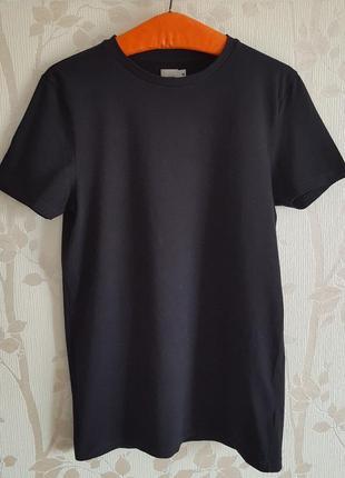 Стрейчевая черная футболка asos