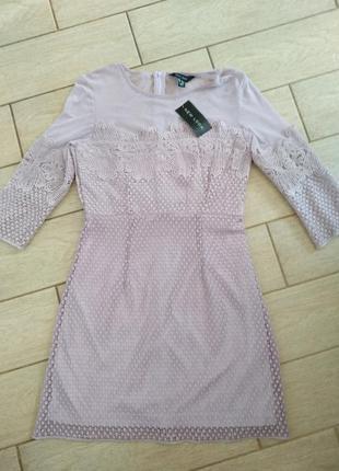 Красивое платье ,цвет лавандовый