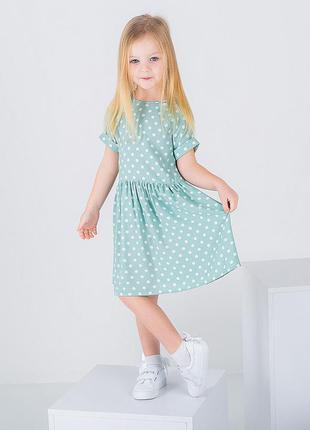 Летнее легкое платье для девочки 10021