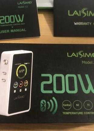 Laisimo L1 + combo rdta + зарядка + батареи