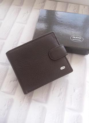 Мужской кожаный кошелек портмоне кожаное шкіряний гаманець