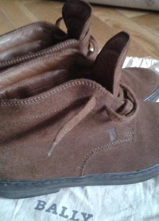 Ботинки tod's , зимние, замшевые ,оригинал