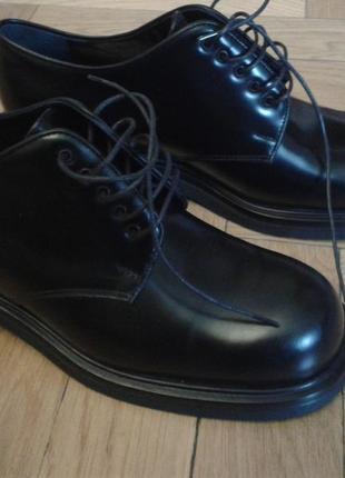 Туфли, granello, кожаные, оригинал