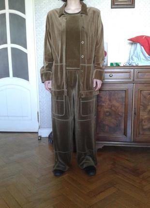 Бархатный костюм, sonia rykiel , оригинал