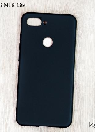 Ултратонкий силиконовый чехол для Xiaomi Mi 8 Lite