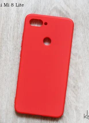 Ультратонкий силиконовый чехол для Xiaomi Mi 8 Lite