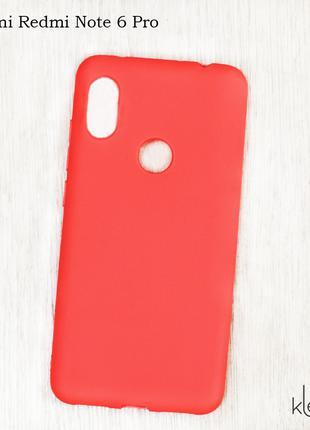 Ультратонкий силиконовый чехол для Xiaomi Redmi Note 6 Pro
