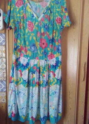 Летние платье 50 размер