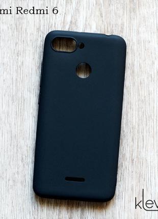 Ультратонкий силиконовый чехол для Xiaomi Redmi 6