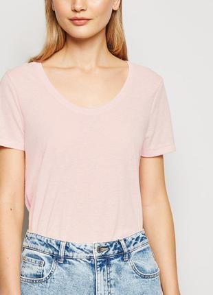 New look.товар из англии.футболка в расцветке пастельно-розово...