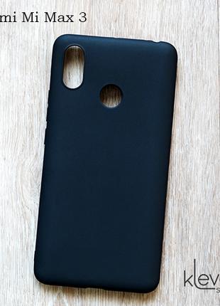 Ультратонкий силиконовый чехол для Xiaomi Mi Max 3