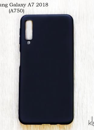 Ультратонкий силиконовый чехол для Samsung Galaxy A7 2018