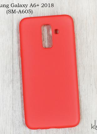 Ультратонкий силиконовый чехол для Samsung Galaxy A6 Plus
