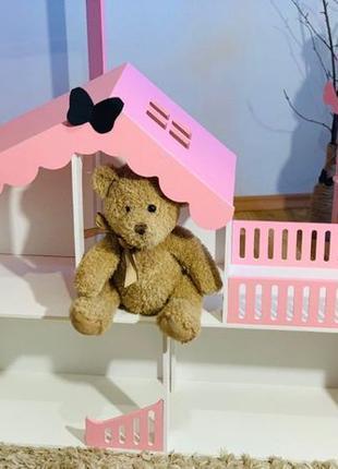 Домик для кукол , кукольный домик для Барби, ЛОЛ, ляльковий бу...