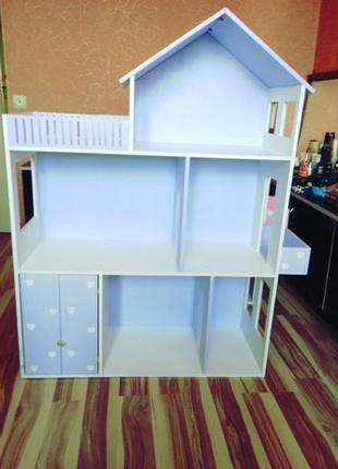 Дом для кукол барби Детская мебель Шкаф Кукольный домик
