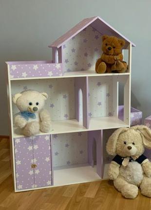 Кукольный домик для барби Дом для кукол ЛОЛ ЭКО дом