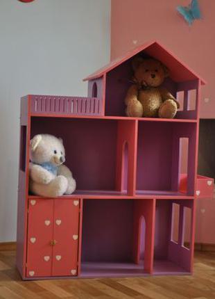 Кукольный домик Домик для кукол Ляльковий Будиночок ЛОл Барбі