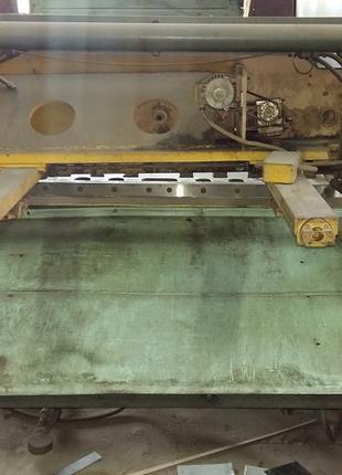 Гільотинні ножиці по металу НД3418