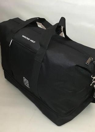 Большая спортивная сумка wovo с ремнем на плечо, дорожная сумка