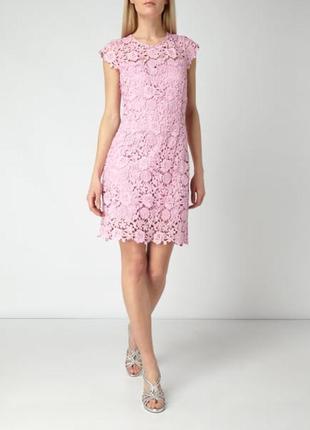Кружевное платье с открытой спиной guess