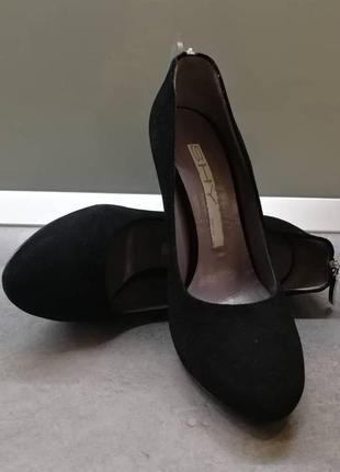 Замшевые туфли shy