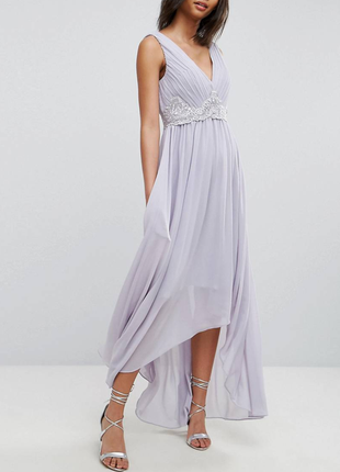 Платье макси на свадьбу, выпускной