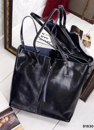 Женская кожаная сумка , натуральная кожа