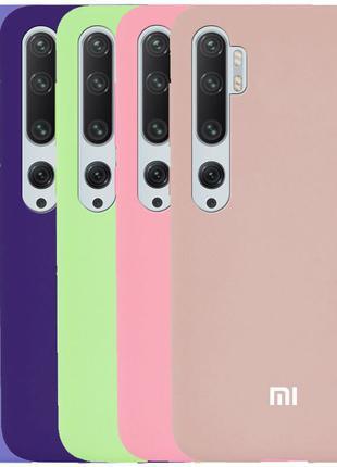 Чехол силиконовый для Xiaomi Mi Note 10 /MI Note 10 Pro /CC9 Pro