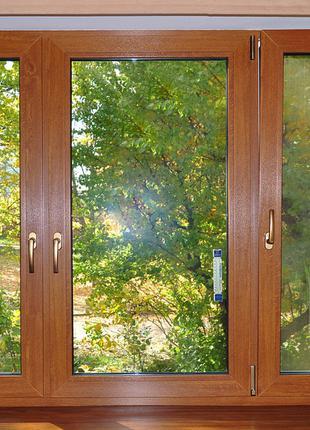 Металлопластиковые окна, двери белые и под дерево (ламинированные