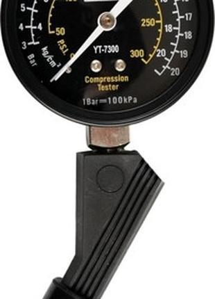 Компрессометр для бензиновых двигателей 3-21бар YATO YT-7300