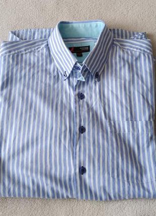 Стильная хлопковая брендовая рубашка igyptian cotton