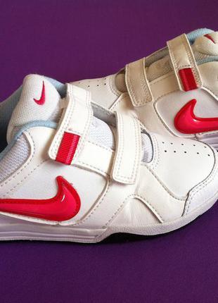 Стильные кожаные кроссовки nike 👟 размер 33,5 (21,5 см) оригин...