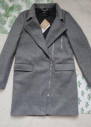 Серое пальто 🖤