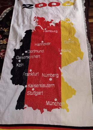 Полотенце с символикой чм-2006 в германии